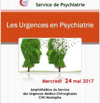 Les urgences en psychiatrie